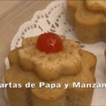 Tartas de Papas y Manzana