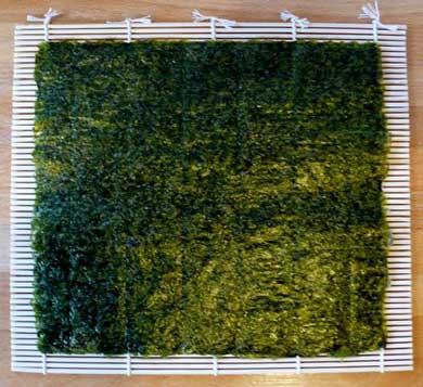 el alga nori